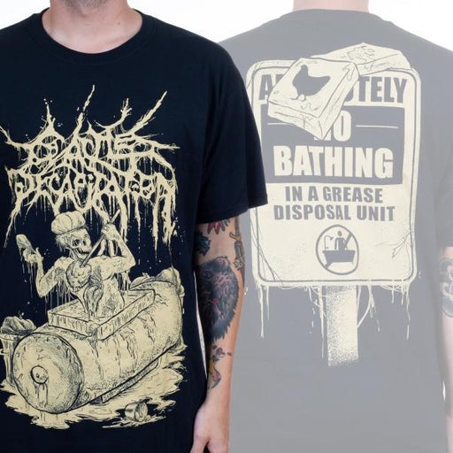 T-Shirt - Cattle Decapitation - Bathing Grease Disposal Unit