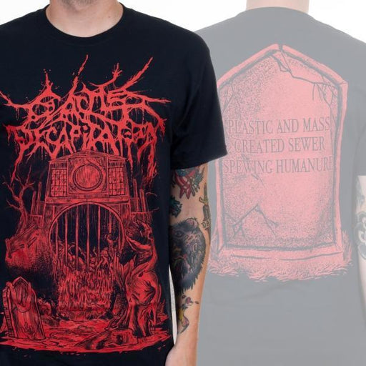 T-Shirt - Cattle Decapitation - Regret And The Grave