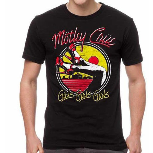 T-Shirt - Motley Crue - Heels Version 2