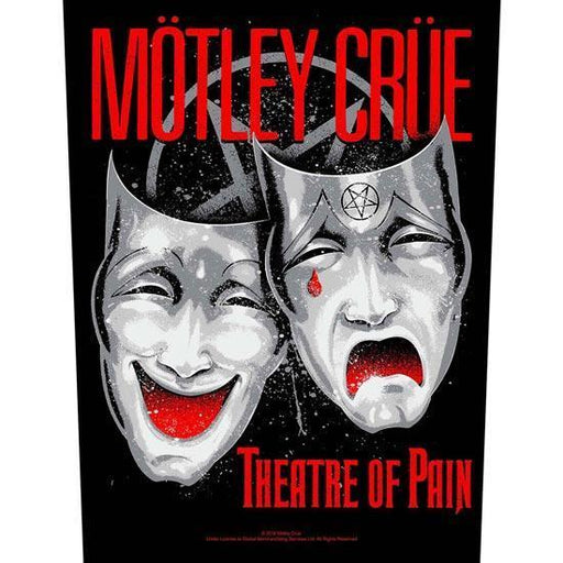 Back Patch - Motley Crue - Theatre of Pain