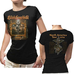 T-Shirt - Blind Guardian - Imaginations 2016 Tour - Lady