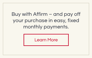 Buy with Affirm - and pay off your purchase in easy, fixed monthly payments.
