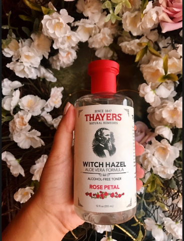 Thayers skin toner makeup remover