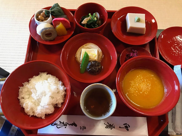 The Rule of Five: Seasonal Japanese Buddhist Meals That Satisfy Our Five Tastes
