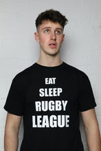 Load image into Gallery viewer, Eat, Sleep, RL Black T-Shirt