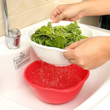 Load image into Gallery viewer, 3 Sets Multi-purpose Drain Basket-Kitchen & Dining-skrstar.com-Red-