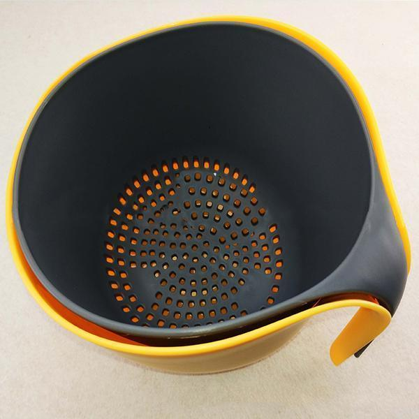 Multifunctional 2-in-1 Double Drain Basket-Kitchen & Dining-skrstar.com-
