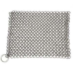 Stainless Steel Chainmail Scrubber-Kitchen & Dining-skrstar.com-