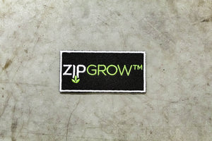 ZipGrow Embroidered Stickers