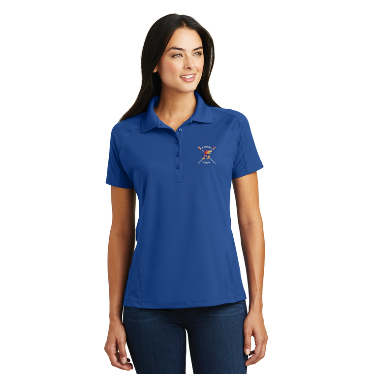 Women's Polo Shirt - UNIV. OF KANSAS
