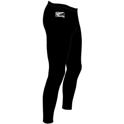 USR JL Unisex Polypropylene Tights with USRowing logo