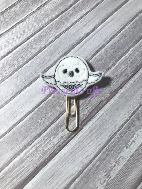 Snowy Owl Paper Clip