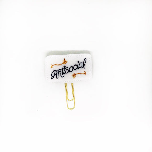 Antisocial Paper Clip