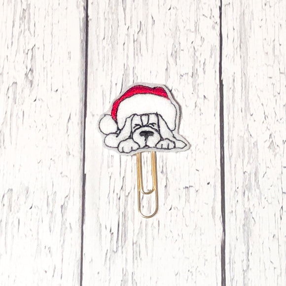 Christmas Dog Paper Clip
