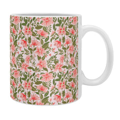 Alja Horvat Pink Botanical Pattern Coffee Mug