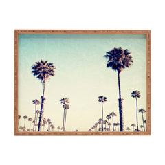 Bree Madden California Palm Trees Rectangular Tray