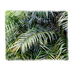 Bree Madden Tropical Jungle Throw Blanket