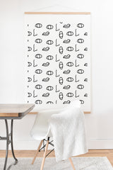 Laura Redburn seeing faces Art Print And Hanger