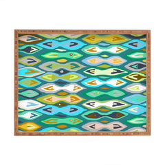 Sharon Turner Sagar ikat Rectangular Tray