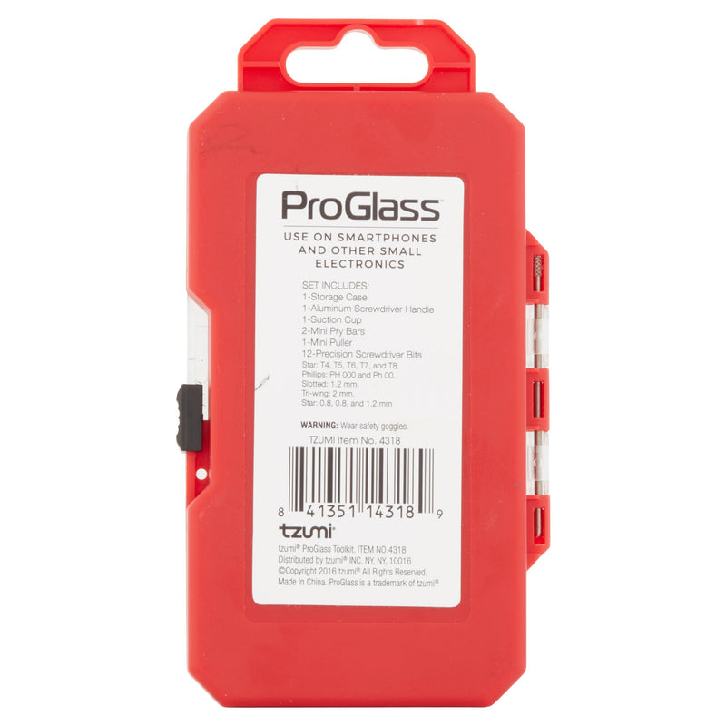 ProGlass Smart Tools DIY Device Repair Kit (18 Ct.)