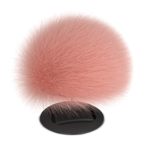 nuckees Trends Phone Grip - Rose Gold Pom