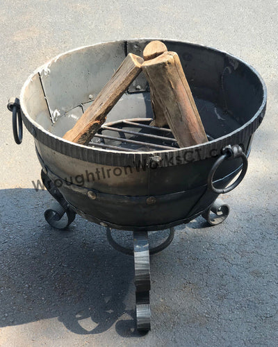 Wrought Iron Fire Bowl 23