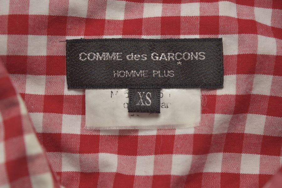 COMME des GARCONS HOMME / Patchwork Gingham Check Shirt