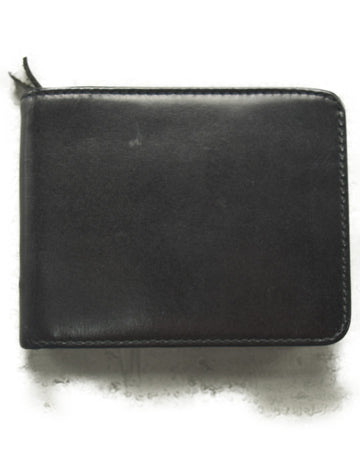 COMME des GARCONS / Black Leather Folding Wallet