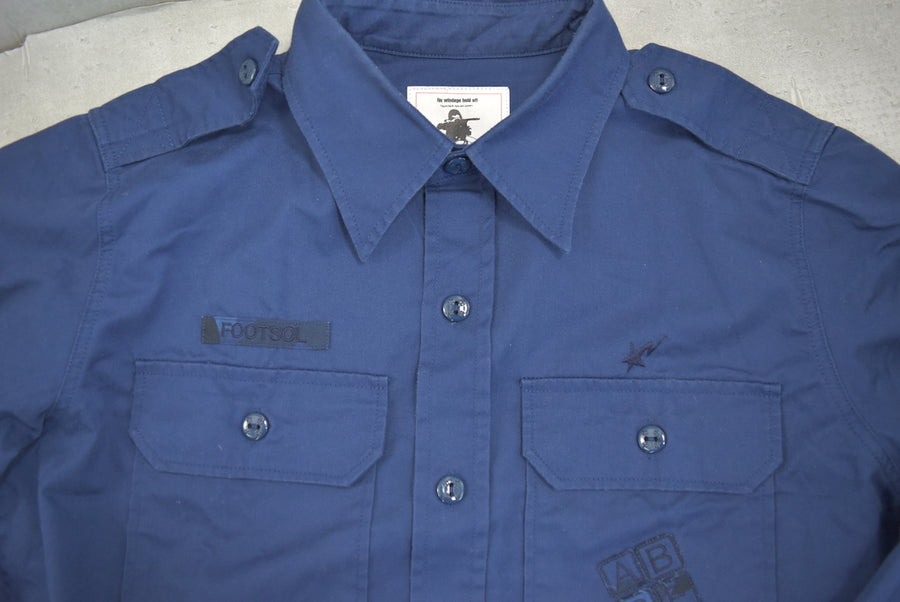 BAPE / Blue Work Shirt