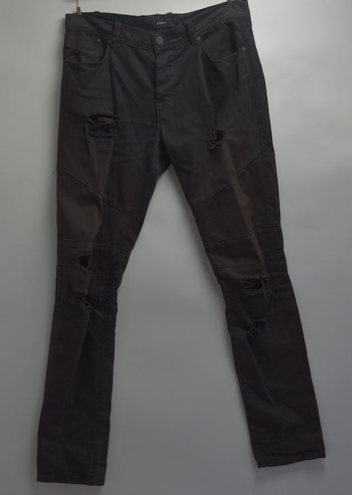 STAMPD/ Damage skinny denim pants
