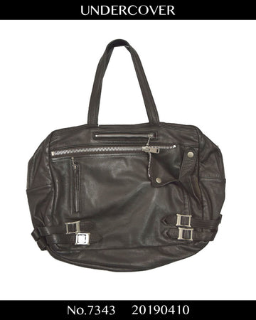 UNDERCOVER / Riders Jacket Motif Leather Bag / 7343 - 0410 368.59