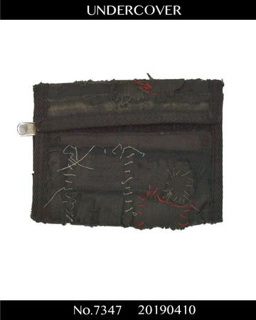 UNDERCOVER / 《SCAB》 Scab Patchwork Wallet / 7347 - 0410 223.5