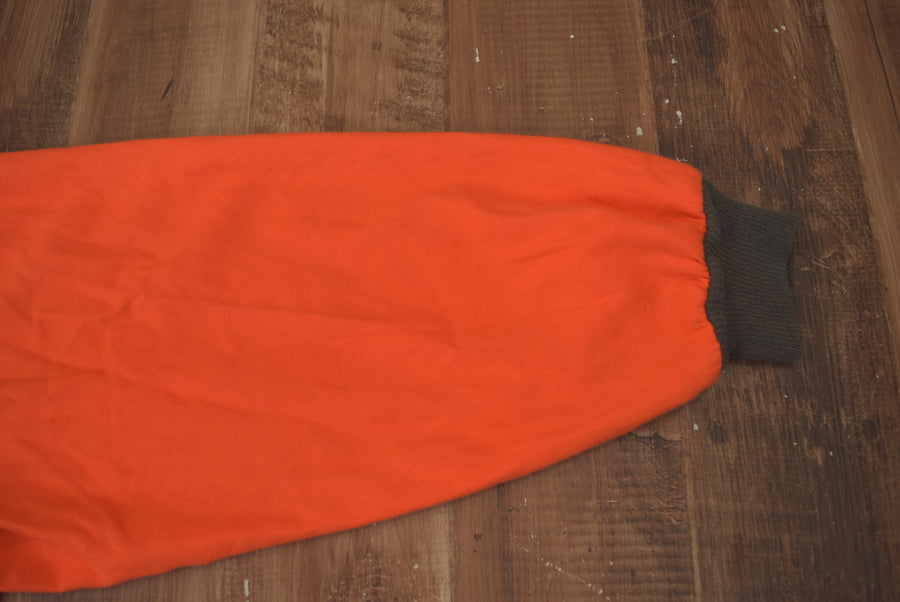 vintage / 50s Orange Work Jacket / 7394 - 0415 45.3