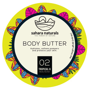 Tropical 6 Body Butter