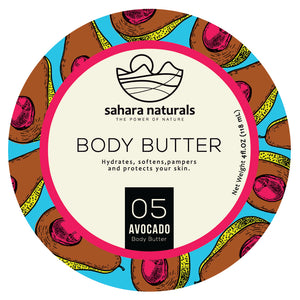 Avocado Body Butter