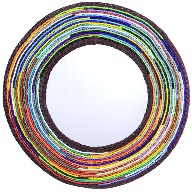 Massai Necklace Mirror - L