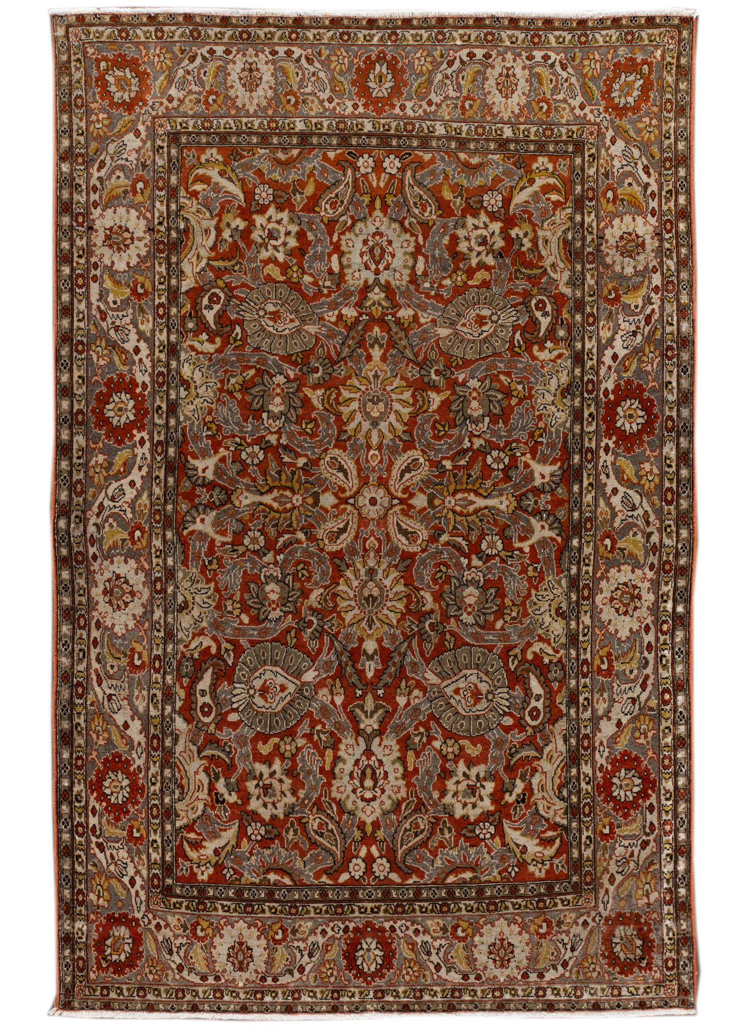 Antique Malayer Rug, #10235256, 4' x 7'