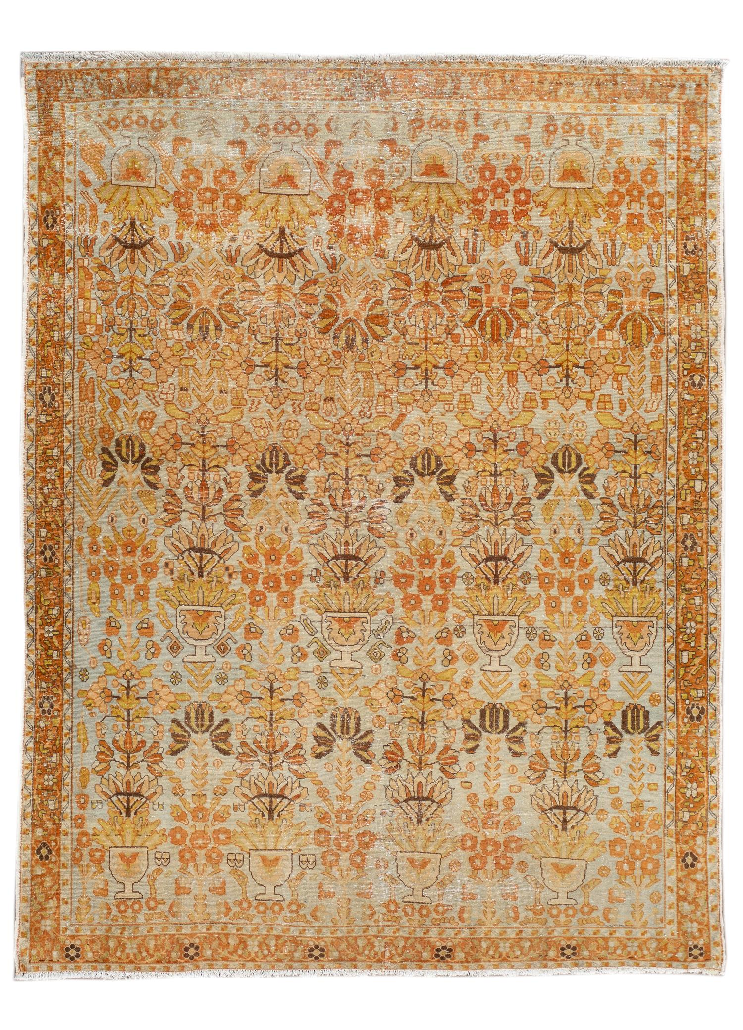 Antique Malayer Rug, #10235258, 5' x 6'