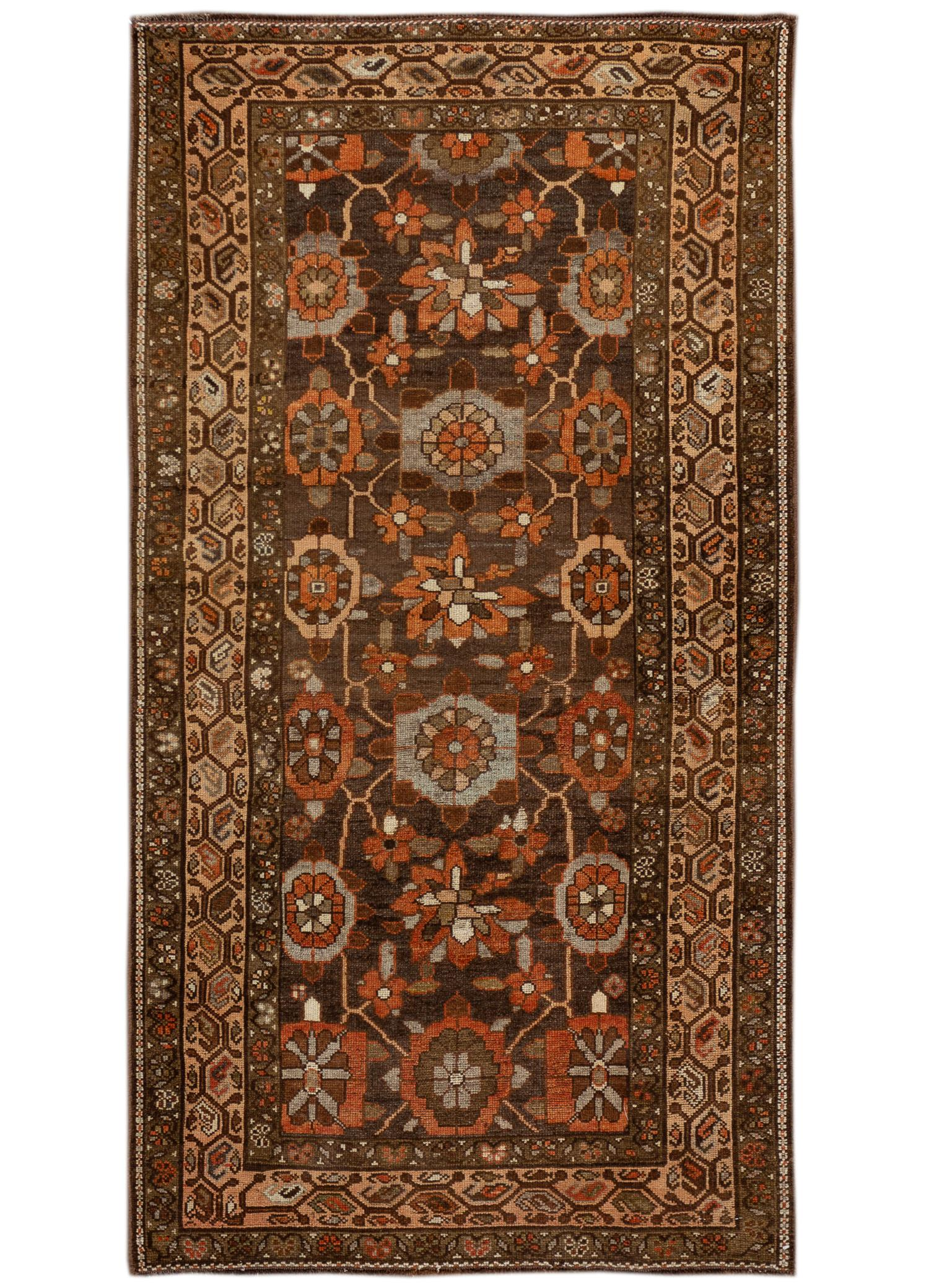 Antique Kurd Rug, #10235266, 4' x 7'