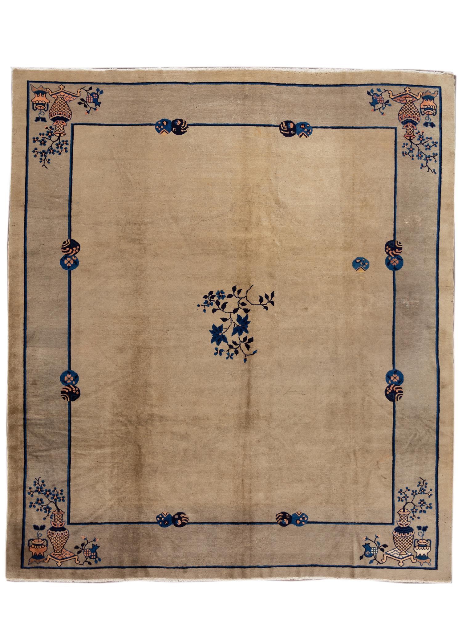 Antique Chinese Peking Rug, 10x11