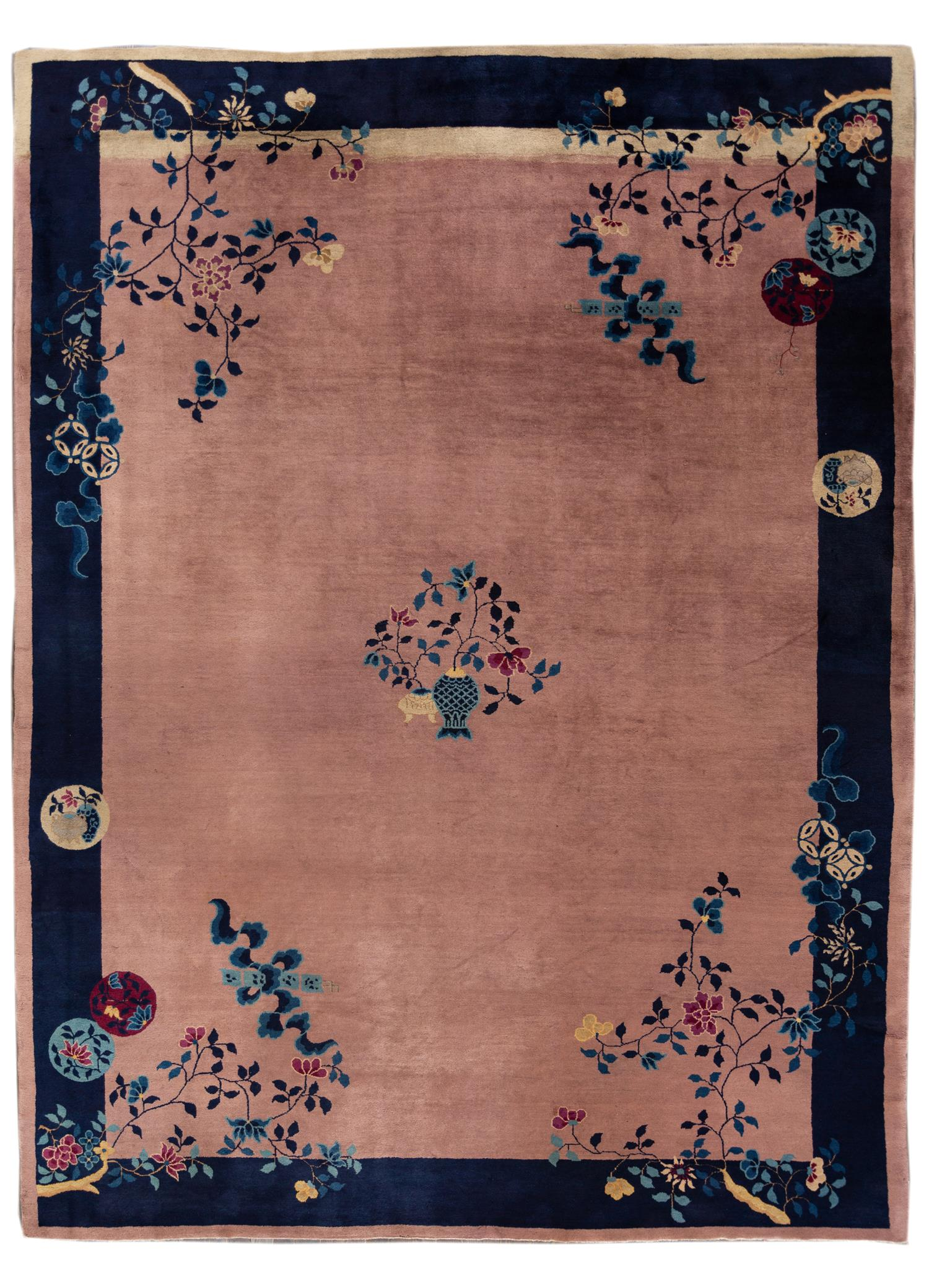 Antique Chinese Peking Rug, 10x14