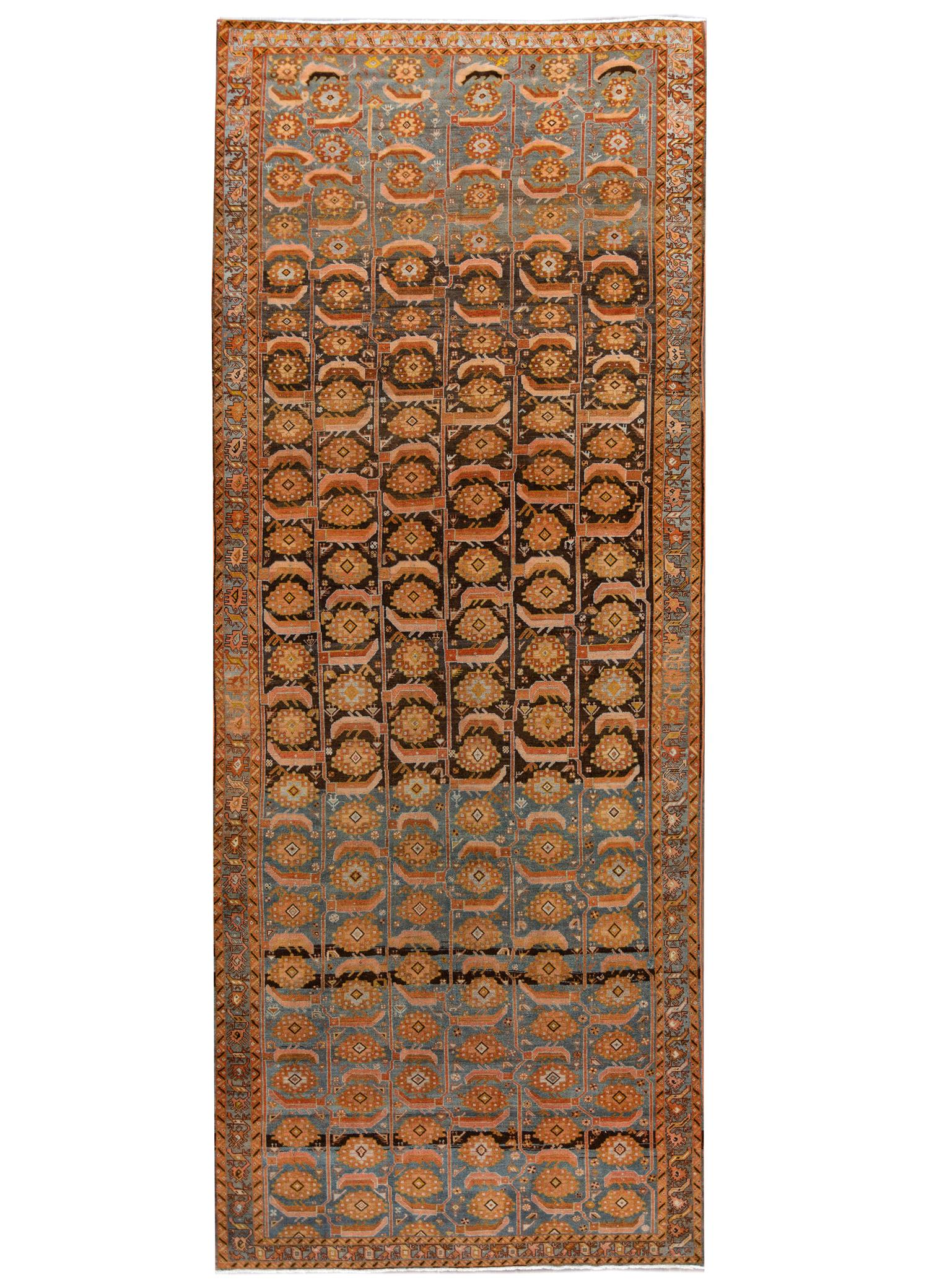 Antique Malayer Rug, #10235251, 7' x 17'