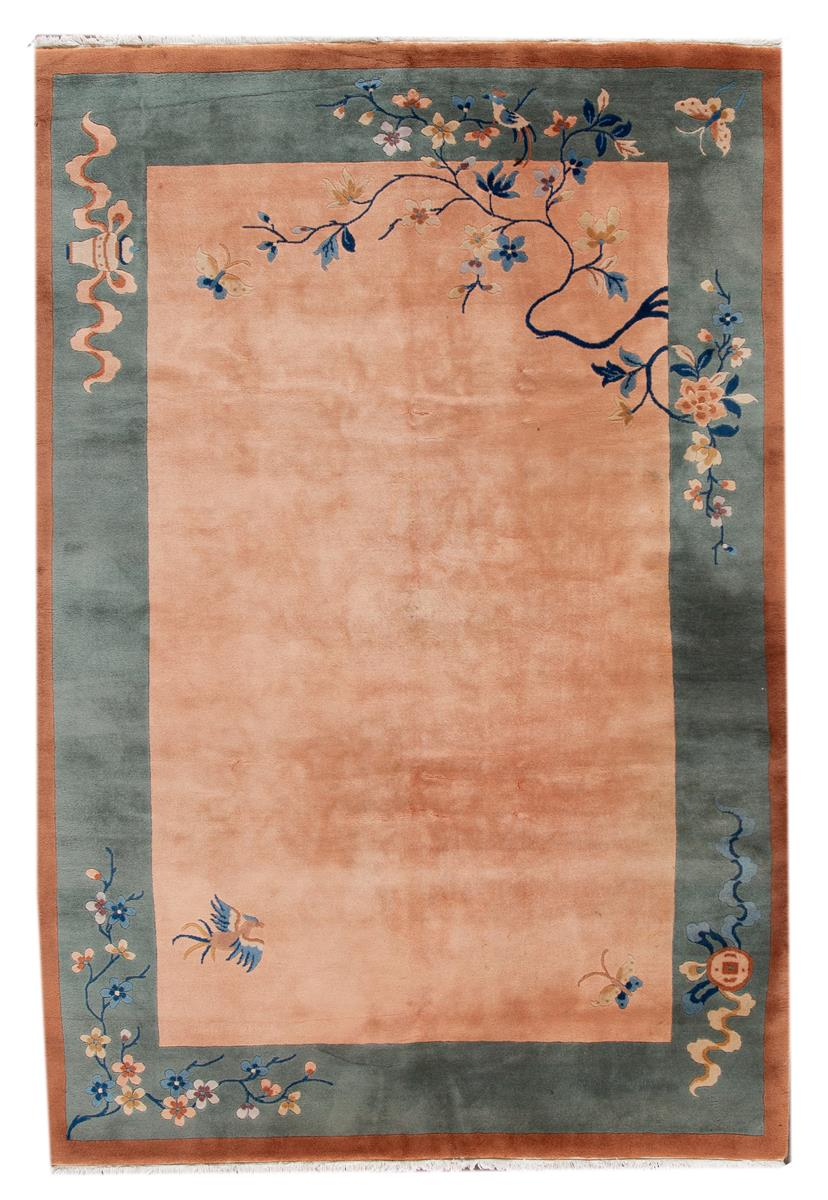Antique Chinese Deco Rug, 7x10