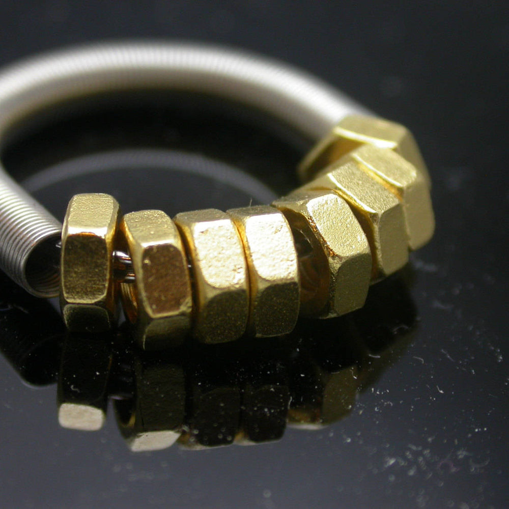 GB-8 Brass Nuts-Ring