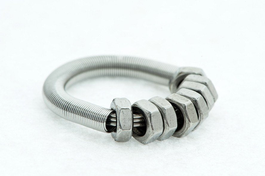 GB-8 Stainless Steel Nuts-Ring