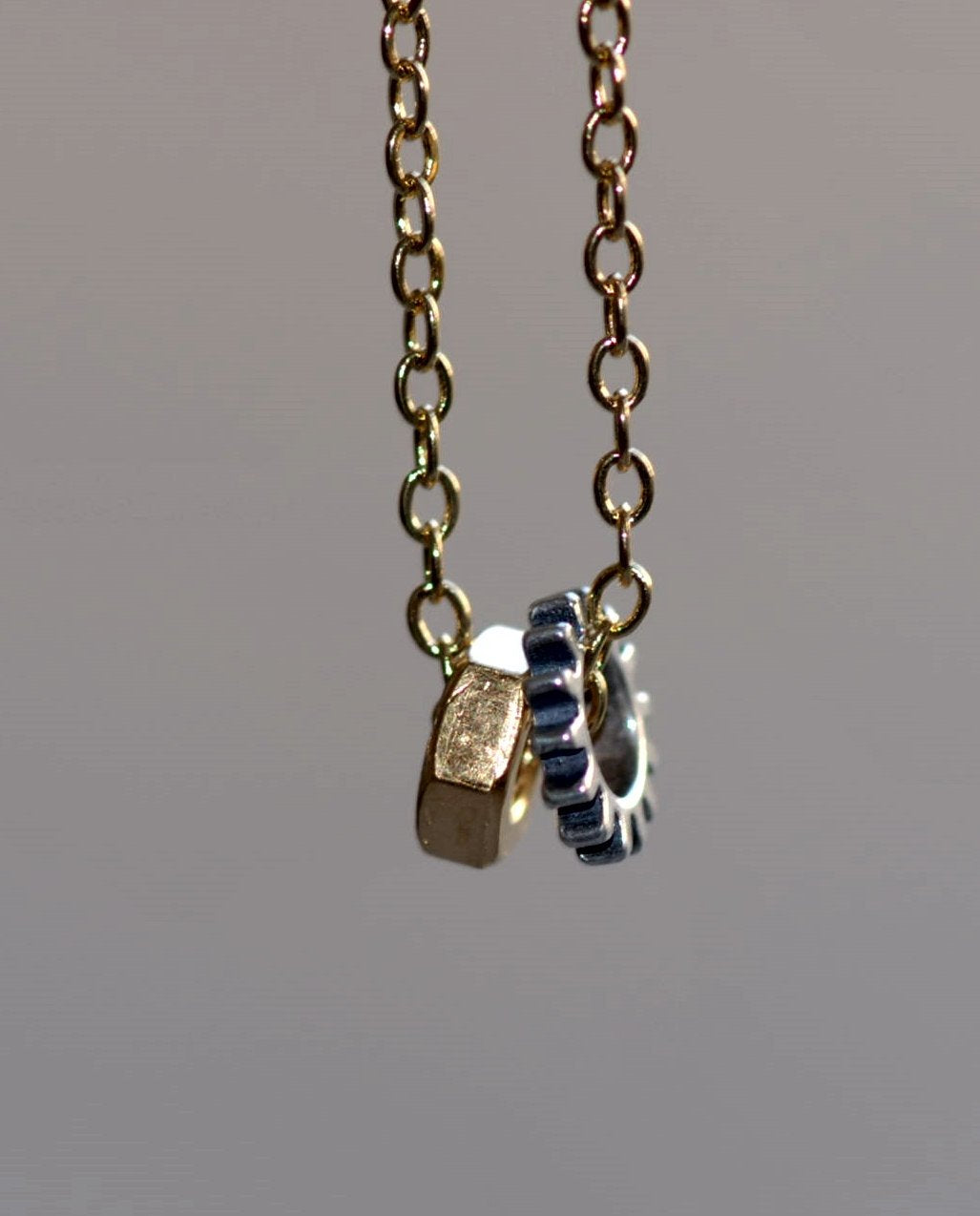 Naughty-Gold & Silver-Necklace