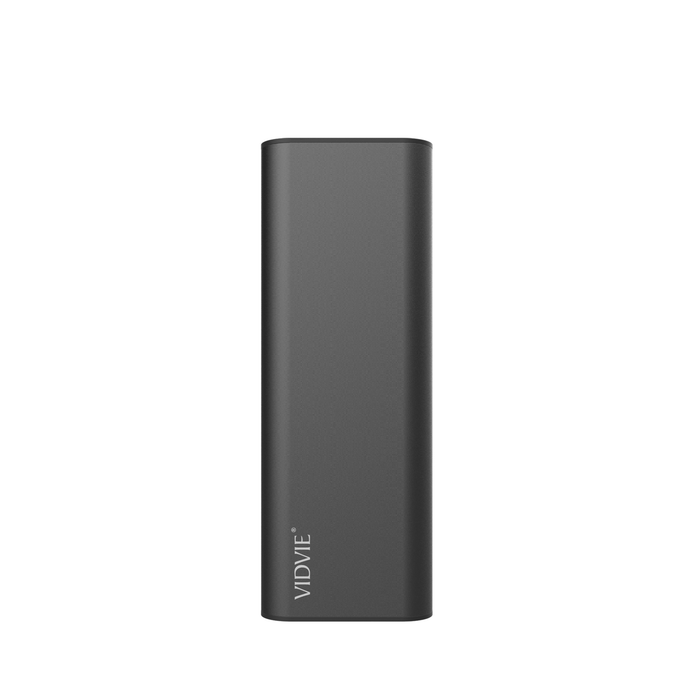 Power Bank 8000 mAh 2 puertos Negro Vidvie PB716
