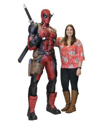 Deadpool Life Size Statue NECA Marvel Foam Classics Figurine- LM Treasures