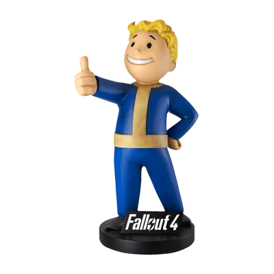 Fallout 4  Vault Boy Life Size Statue - Pre Owned- LM Treasures