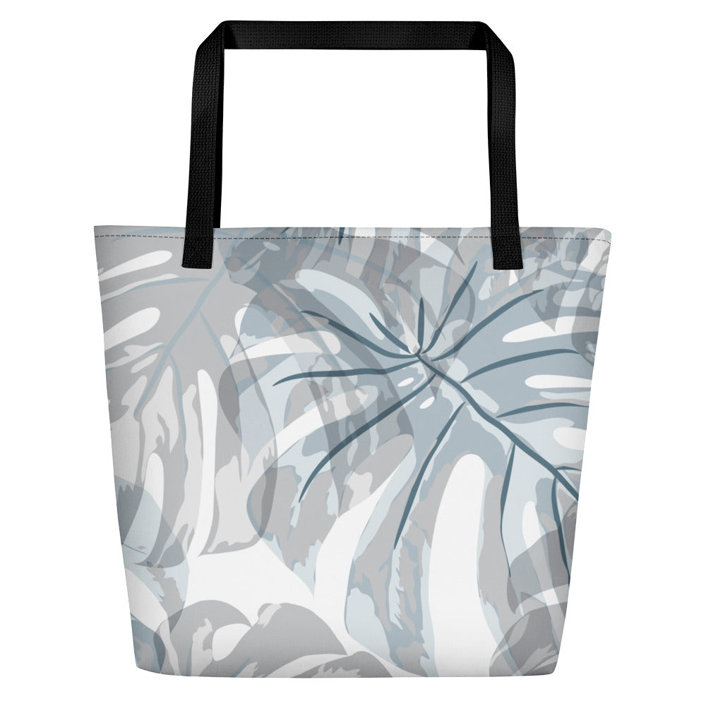 Botanical Leaf Beach Bag